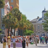 The Hat Ladies Annual Easter Promenade