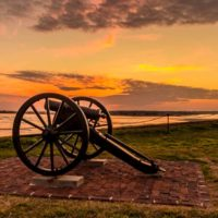 Sunset at Fort Sumter: Behind the Scenes
