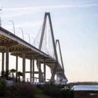 Walking the Arthur Ravenel Jr. Bridge