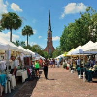 The Piccolo Spoleto Outdoor Exhibit: May 25 – June 9, 2018 • Marion Square