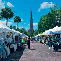 Charleston Holiday Market at Marion Square