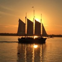 Sunset Wine Tasting on the Schooner Pride